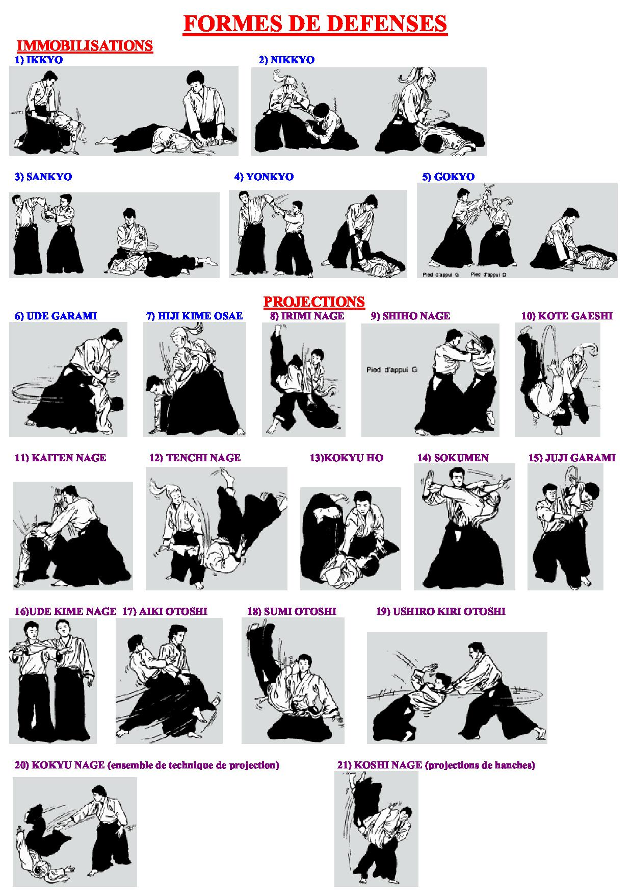 DEFENSES - AIKIDO (jpg)